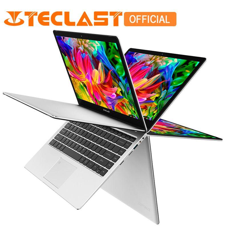 Teclast F6 Pro 13.3 inch Laptop Intel Core m3-7Y30 Dual Core 8GB RAM 128GB SSD Windows10 Rotatable Fingerprint Notebook