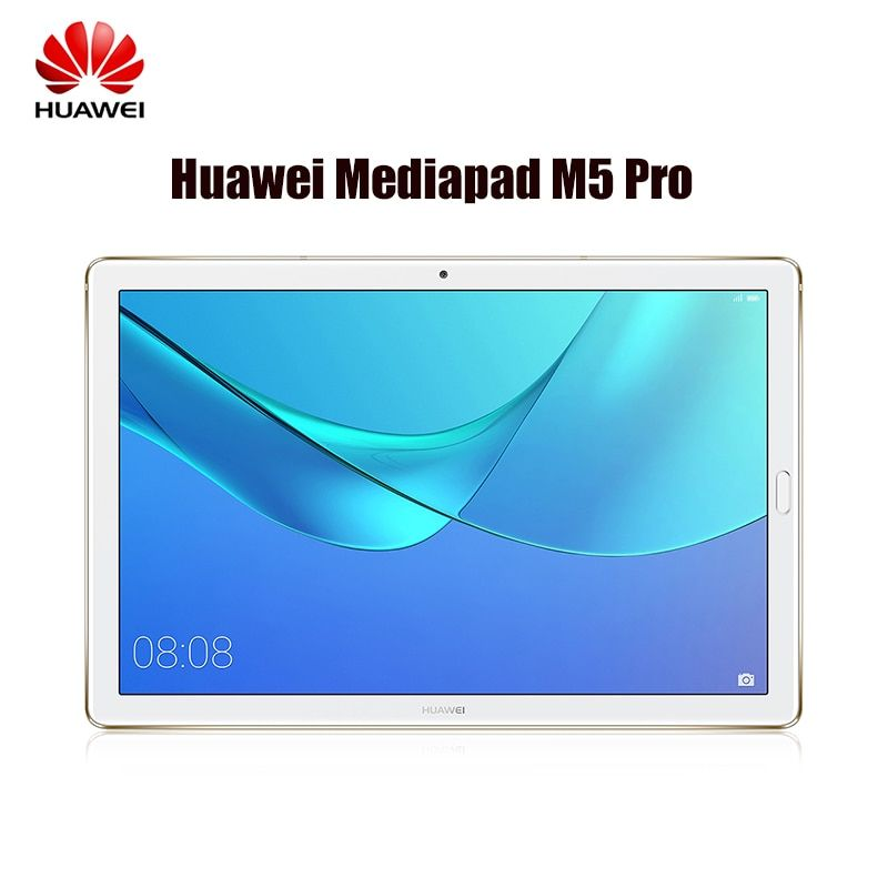 HUAWEI MediaPad M5 Pro CMR-AL19B 10.8'' 4G Android 8.0 Tablet PC HiSilicon Kirin 960 Octa Core 4GB+64GB 2.4G/5G Wifi 13MP Tablet