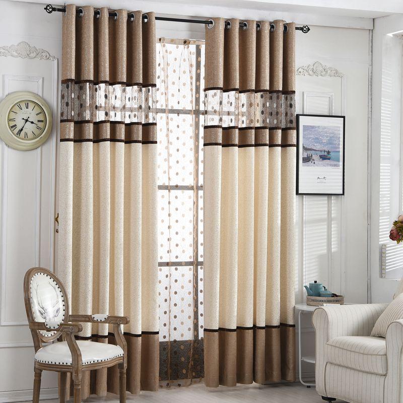 [Byetee] rideau de luxe de haute qualité pour rideaux de cuisine pour salon moderne Cortinas tissu fenêtre rideaux