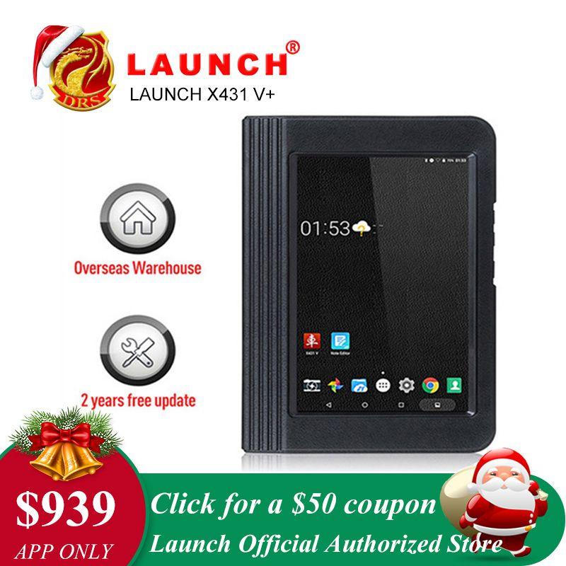 Starten X431 V + V Plus Diagnose Werkzeug Auto OBD2 Scanner Full System OBD 2 OBDII Wifi Bluetooth 2 Jahr freies Update Auto Scanner