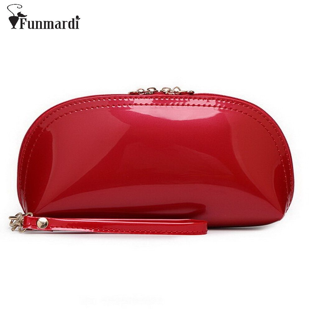 New arrival summer hot sale candy PU patent leather day clutches/Evening Bag/purse 15 colors option WLHB768