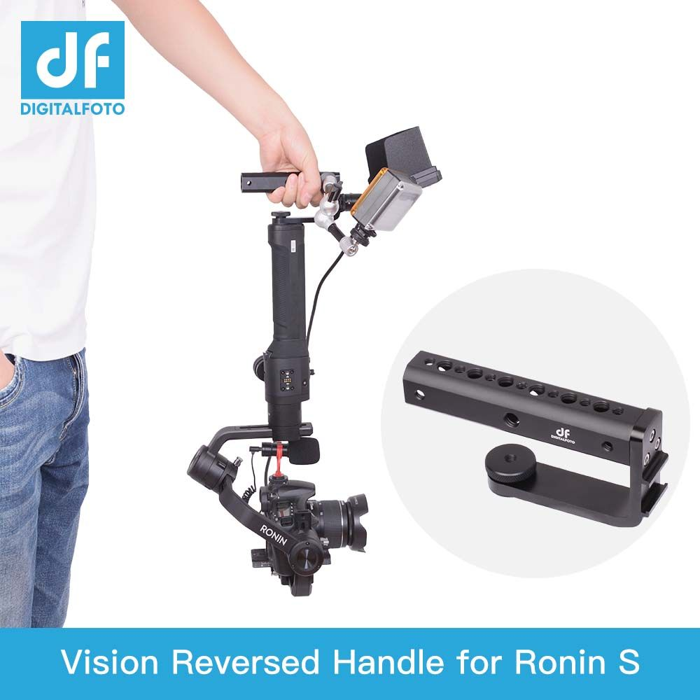 DIGITALFOTO DJI RONIN S gimbal accessories Bottom extension handle Inverted shooting connect for Crane 2 MOZA air 2/AK2000AK4000