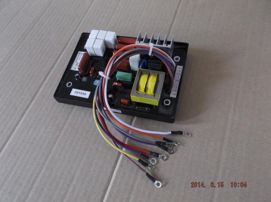 Freies verschiffen DST-51 KJ-T130DX KJ-T180X diesel generator anzug für Kubota die mehr generator AVR Automatischen Spannungsregler