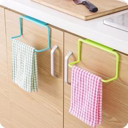 Kitchen Organizer Towel Rack Hanging Holder Bathroom Cabinet Cupboard Hanger Shelf For Kitchen Supplies Accessories Cocina *40