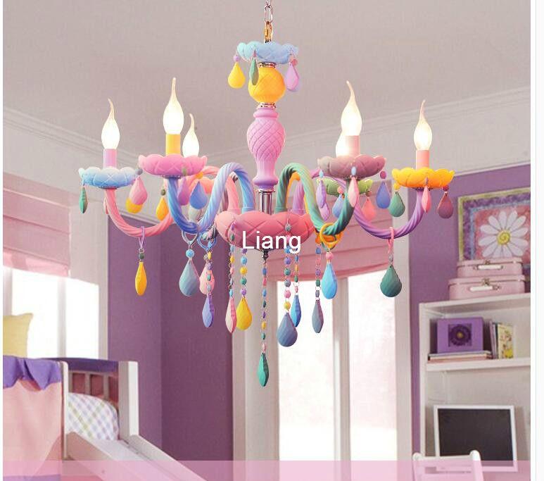 Freies Verschiffen Bunte Kronleuchter Lampen Dekoration Lichter Für Kaffee Shop Hochzeit Bar Glas Ball Lampe Moderne LED Kronleuchter