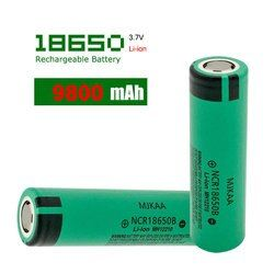 Cncool Оригинальная Аккумуляторная Батарея NCR 18650 3,7 V 9800 мА/ч, литий-ионный аккумулятор Перезаряжаемые батареи NCR18650B Батарея оптовая продажа
