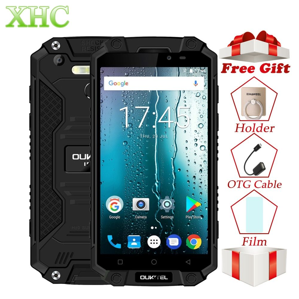 IP68 Oukitel K10000 Max Waterproof Shockproof Smartphone MTK6753 3G+32G 16MP 10000mAh Battery 5.5