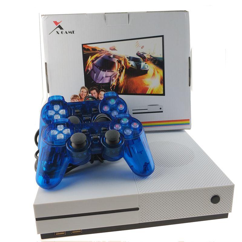 TV Spielkonsole Unterstützung HDMI TV XGame Handheld Gaming Player Eingebaute 600 Verschiedene Spiele Mit 2 stücke Wired Controller