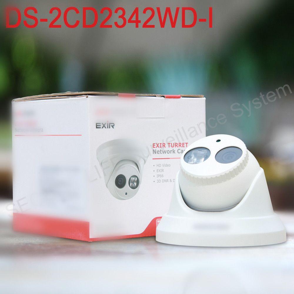 В наличии ds-2cd2342wd-i английская версия 4mp CCTV Камера Exir CCTV Камера 120db WDR P2P IP-камера POE заменить ds-2cd2332-i H.264 +