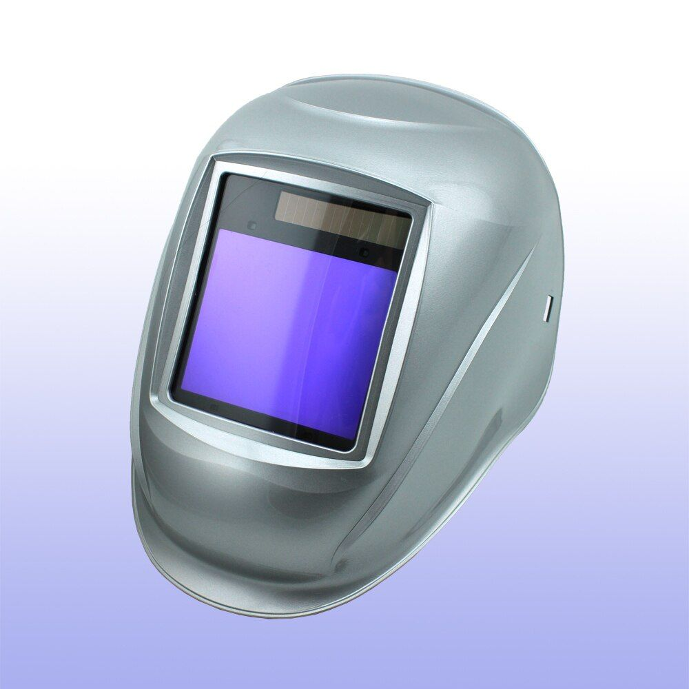 Auto darkening welding helmet/welding mask/MIG MAG TIG(Grand-918I Silver)/4arc sensor