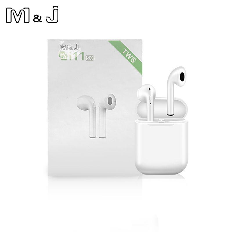 I11 TWS sans fil stéréo écouteurs 1:1 Bluetooth 5.0 casque Auto appairage sport écouteur pour Iphone Android Huawei pas i9s i10 i13