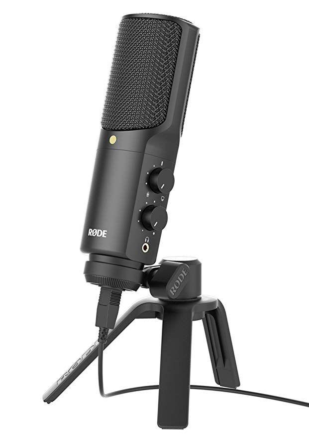 Original Ritt NT-USB professionelle kondensator aufnahme mikrofon USB computer mic unterstützung ios mit Pop Filter und tisch stehen