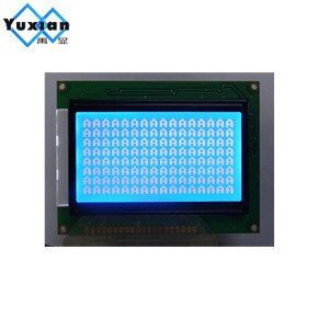 128x64  lcd display module STN blue screen white backlight  5v  graphic ks0107 instead WH12864A LM12864LFW LCM12864C-1 free ship