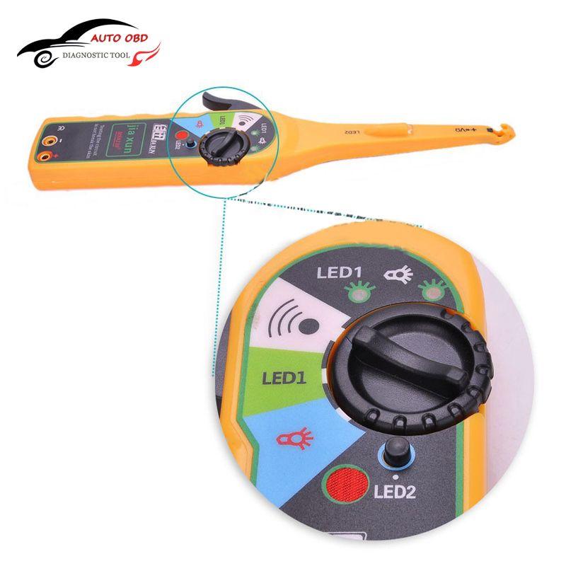2016 Multi-function Automotivo Circuit Tester Multimeter Lamp Car Repair Electrical Multimeter Car Tools Car Battery Tester 12V