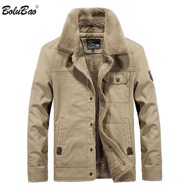 BOLUBAO Men Brand Bomber Jacket 2018 New Winter Men's Jackets Fleece Casual Tactical Outerwear Thick Jackets Male Coats