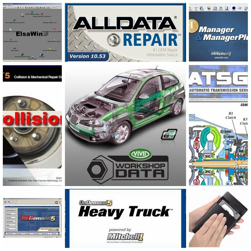 Neue 26 Alldata software programme V10.53 auto reparatur mitchell ondemand vivid werkstatt automotive auto diagnose werkzeug professionelle