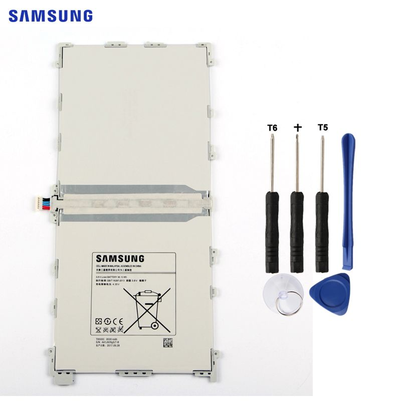 SAMSUNG Original Tablet Battery For Samsung Galaxy Note 12.2 P900 SM-T900 SM-P900 P901 P905 Authentic Battery T9500E T9500C