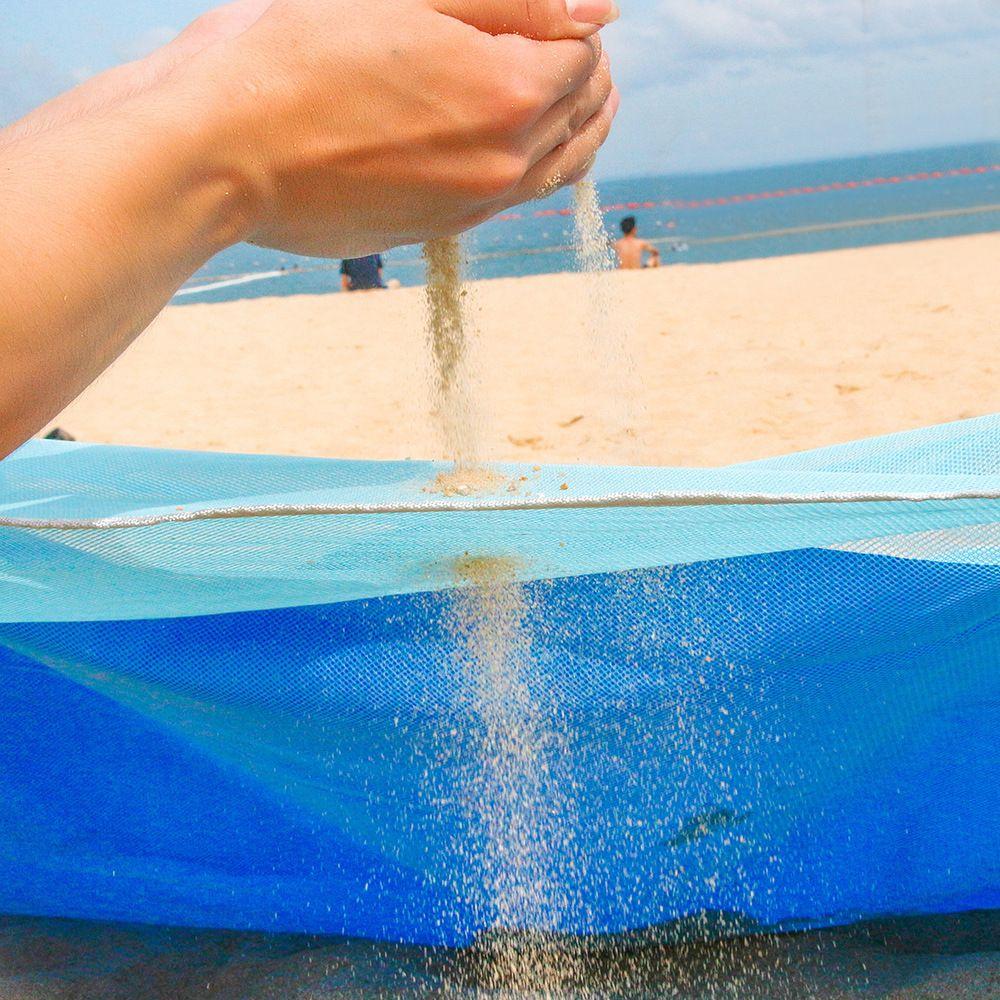 1 pièces tapis de sable anti-dérapant tapis de plage Portable maison tapis extérieur pour la plage camping en plein air fête livraison directe