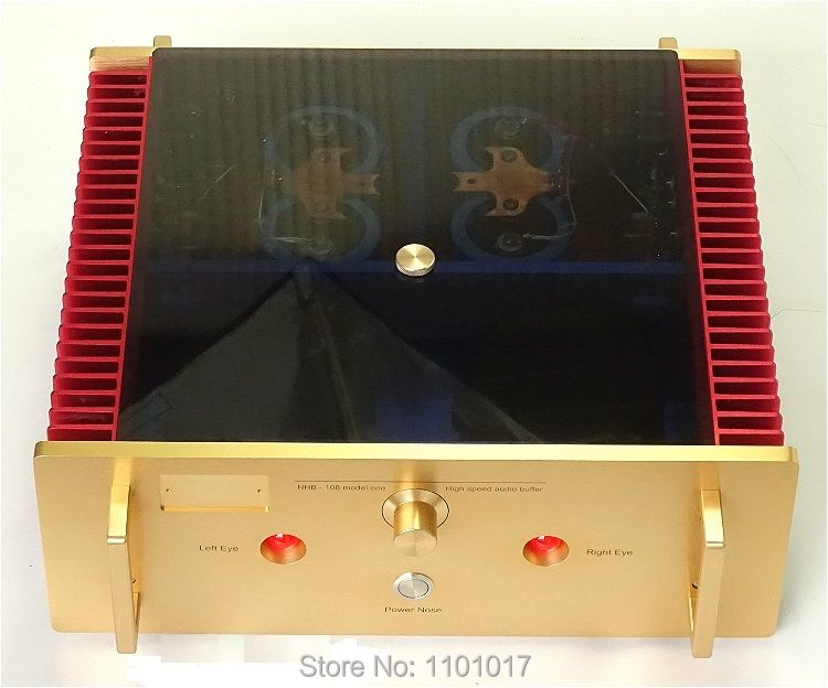 Weiliang Breeze Audio A100 Full Replica NHB 108 Amplifier HIFI-EXQUIS No Negative Feedback Circuit Hi-end Solid Amp WBANHB108