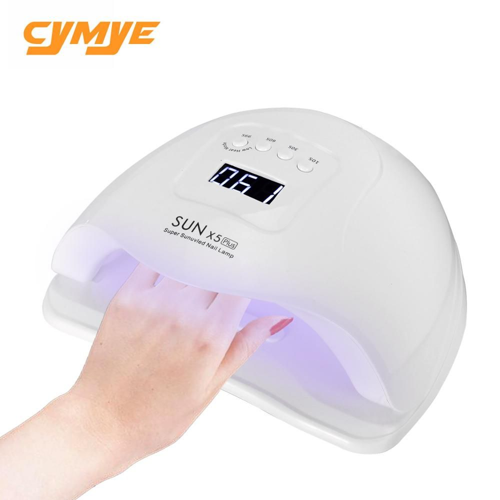 Cymye sun X5 plus UV LED lamp for nails dryer