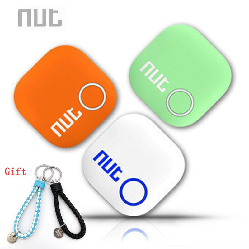 Nut 2 Smart Tag Bluetooth Tracker Anti-lost Pet <font><b>Key</b></font> Finder Alarm Locator Valuables as Gift For Child ( White/ Green/ Orange)