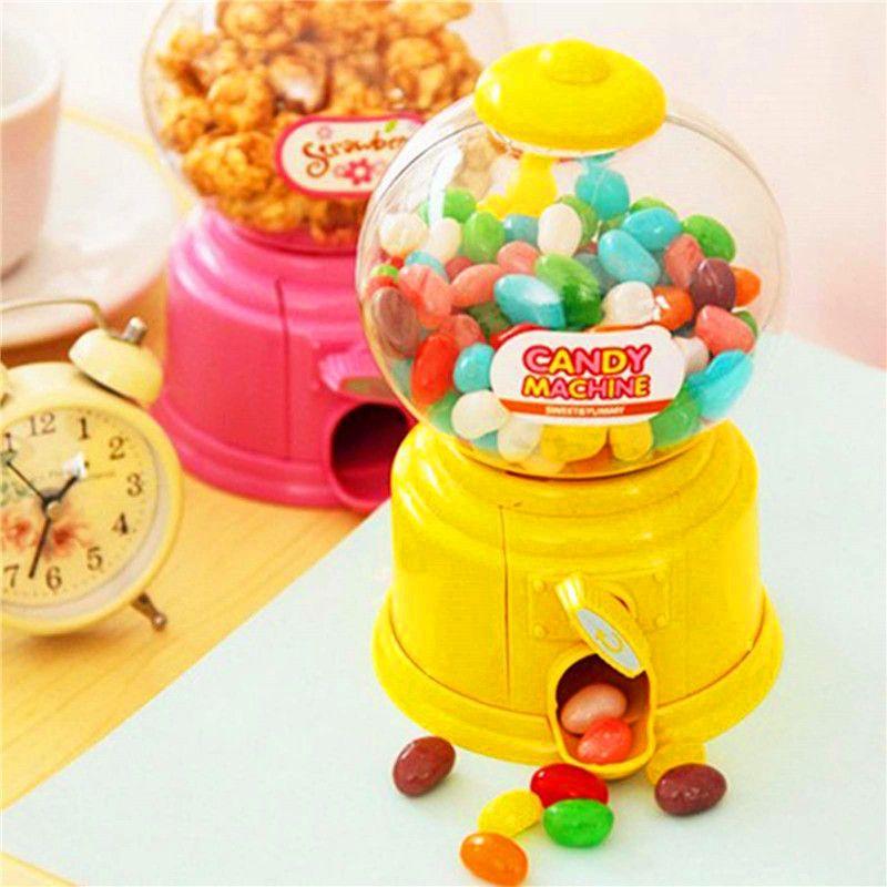 Мини Горячий Магия закуски конфеты сладкий орех Gumball дозирующая Коробки игрушка в подарок Шкатулка декоративная подарок для chridren