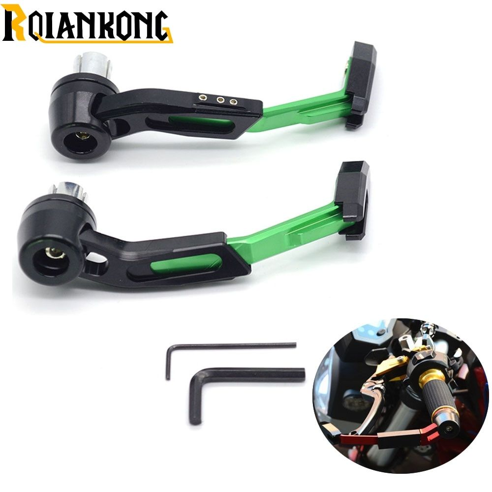 22mm Motorcycle Accessories Handlebar Clutch Brake Lever Protect Guard for Kawasaki Ninja 1000 1000R 250 250R 300 300R 400R 650