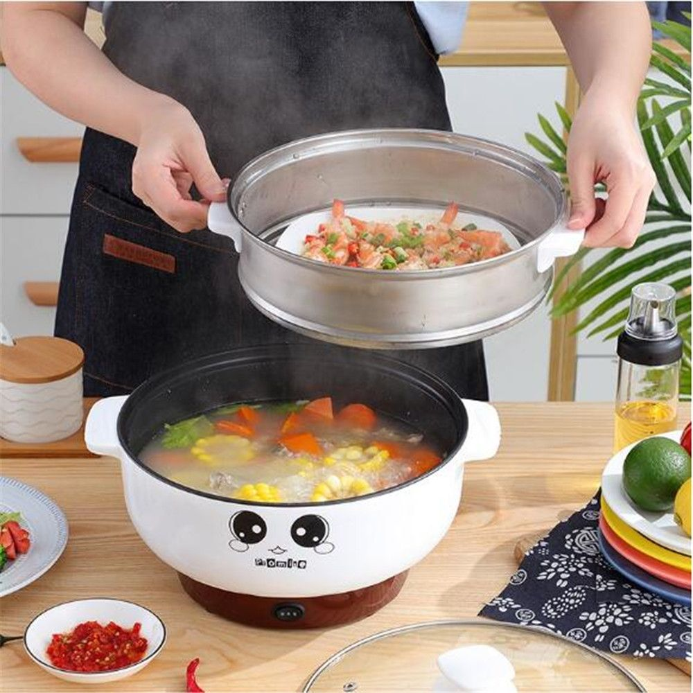 yanyanxz99.99usd electric cooker electric cooker electric steamer household cast iron electric wok cooking baile li 9.10