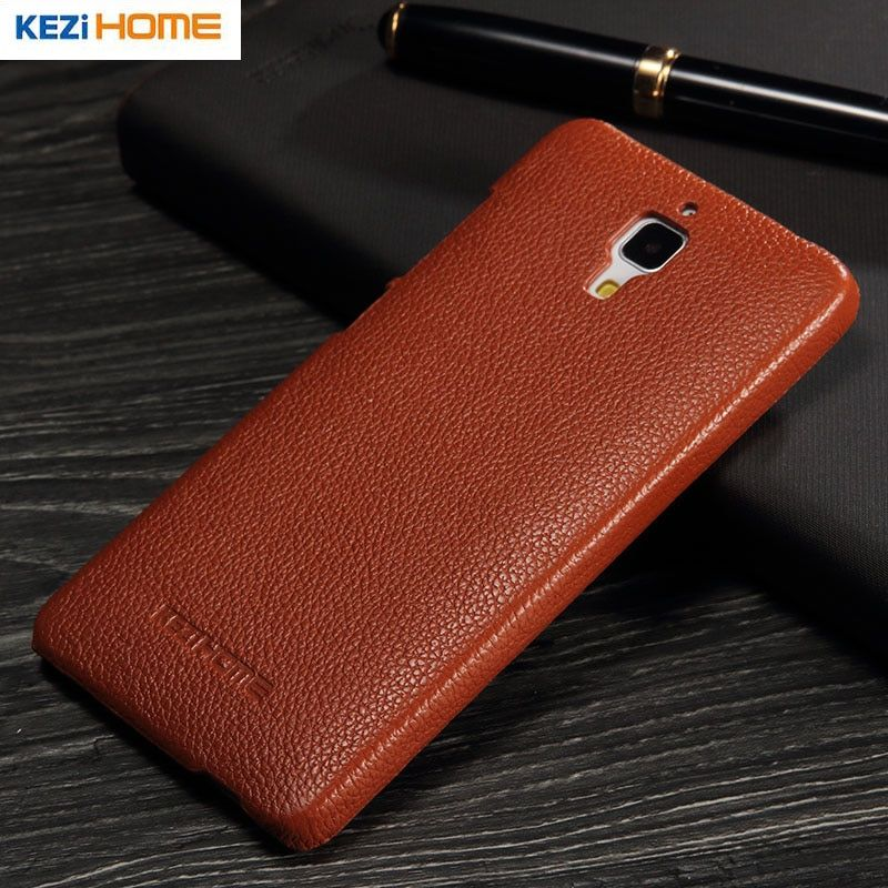 xiaomi mi4 case Genuine leather PC back xiaomi mi4 case for xiaomi mi 4 case coque Xiaomi phone High quality