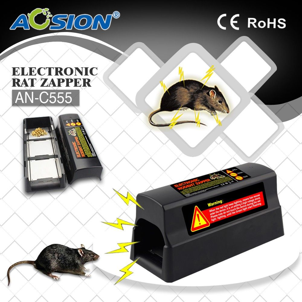 Aosion Pest Reject Electronic Mouse Killer Advanced Pest Control Instant Kill Electronic Rat & Mouse Device