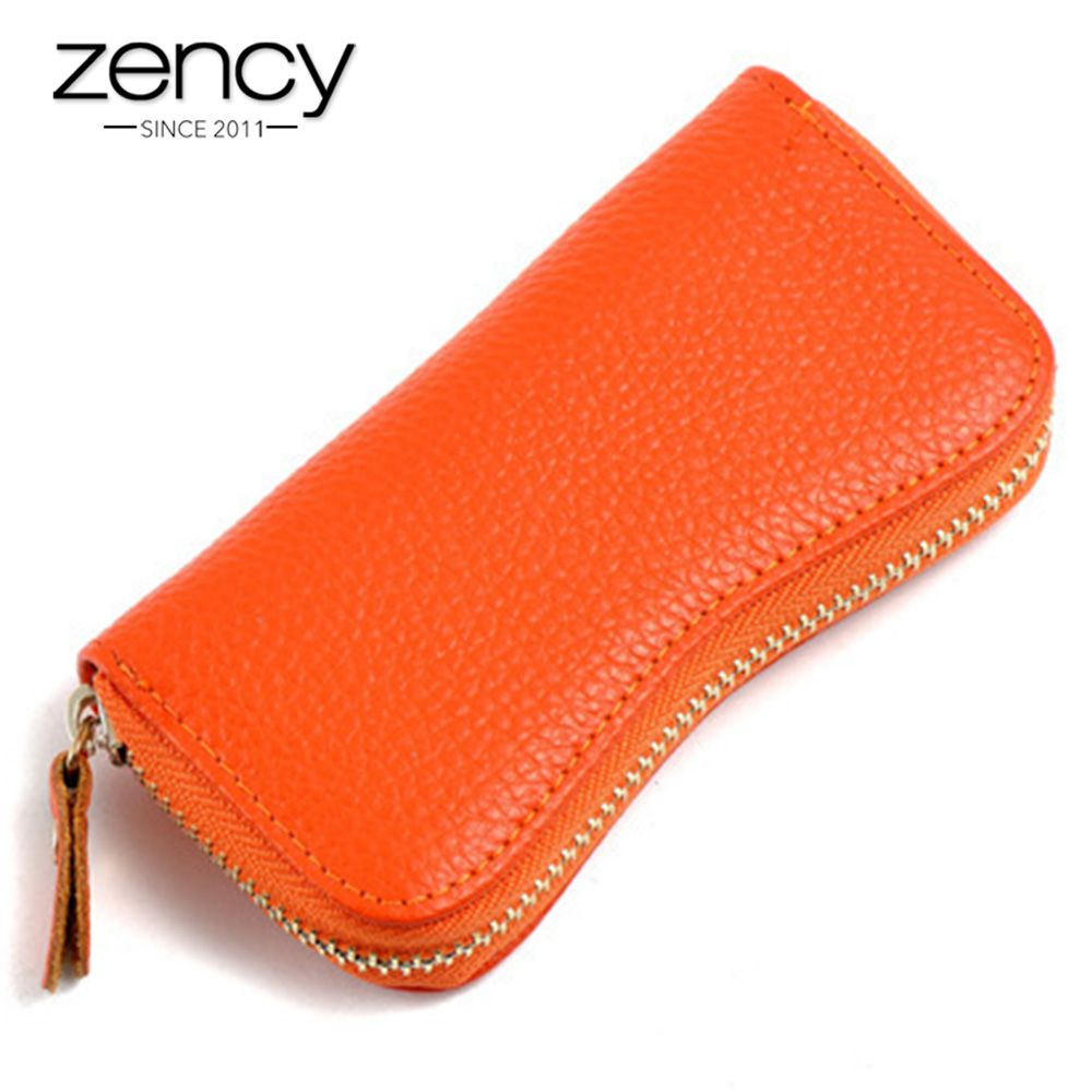 10 Colors Wholesale 100% Genuine Leather Most Popular Key Wallets Fashion Small Bag Mini Coins Holder Unisex Housekeeper