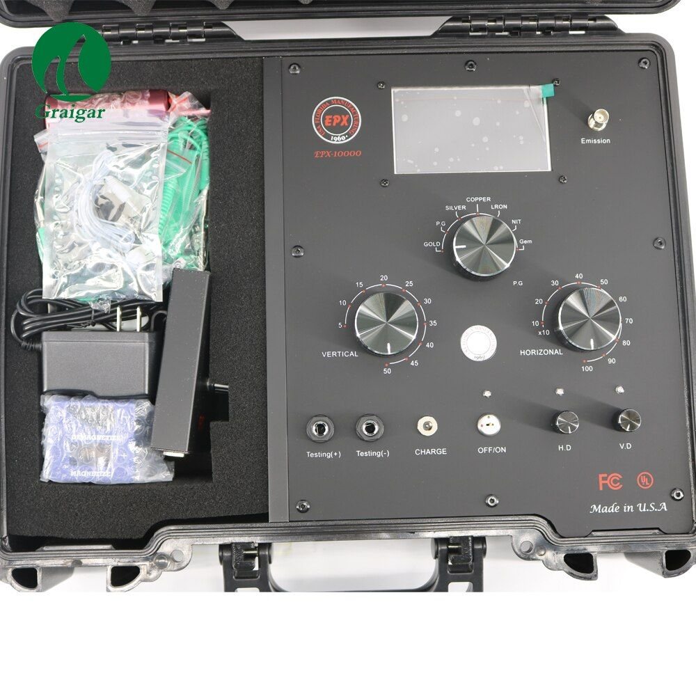 EPX-10000 Neue Version Digitale Frequenz Radar Remote Unterirdischen Metall Detektor