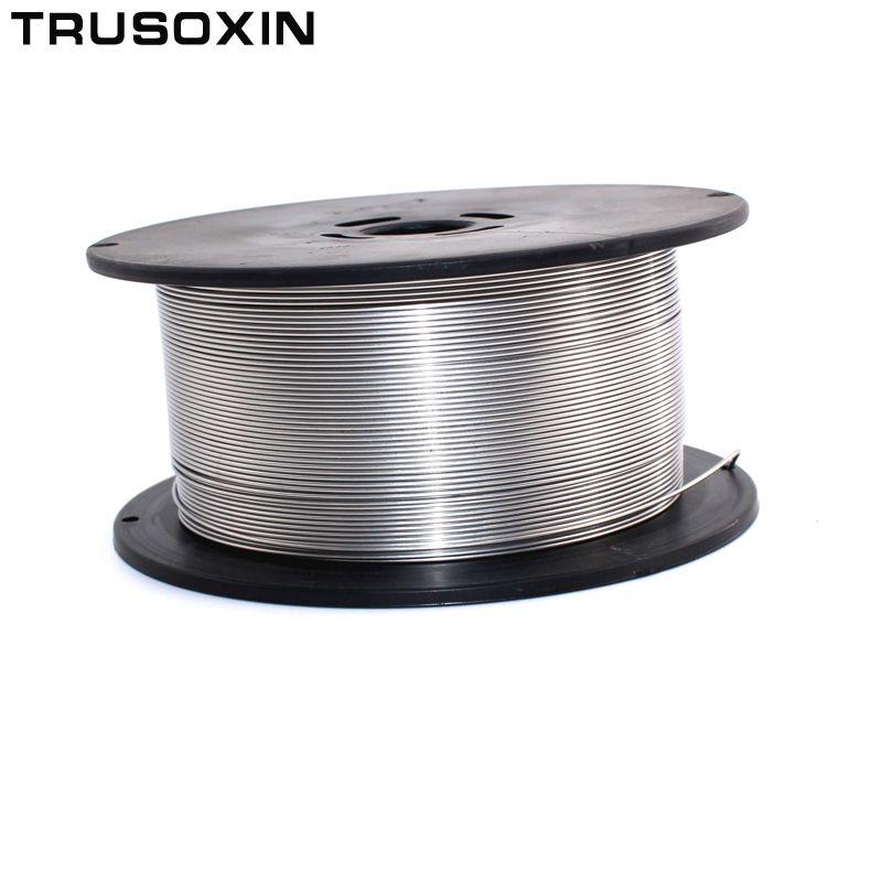 1 kg MIG mag-schweißgerät accessoies 0,8 MM/1,0 MM/1,2 MM edelstahl MIG Schweißdraht/schweißer elektroden