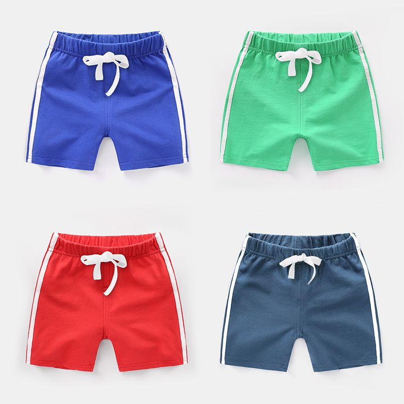 Boy shorts wear 2018 new summer clothes children's clothing girls baby children's tide children's thin section pants FREE