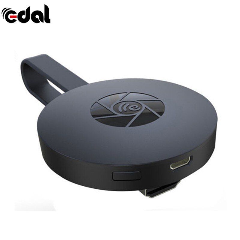 EDAL 1080 p Android Sans Fil WiFi Affichage TV Dongle Récepteur TV Bâton Airplay Media Streamer Adaptateur Pour Google Chromecast 2
