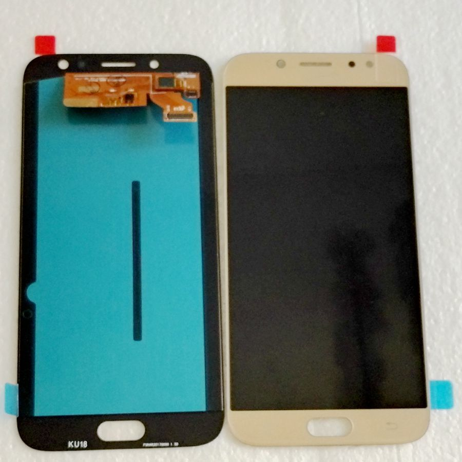 Tested good For Samsung Galaxy J7 2017 J730 j730F/ds J730M J730fm/ds Amoled LCD With touch glass Full for repair phone display