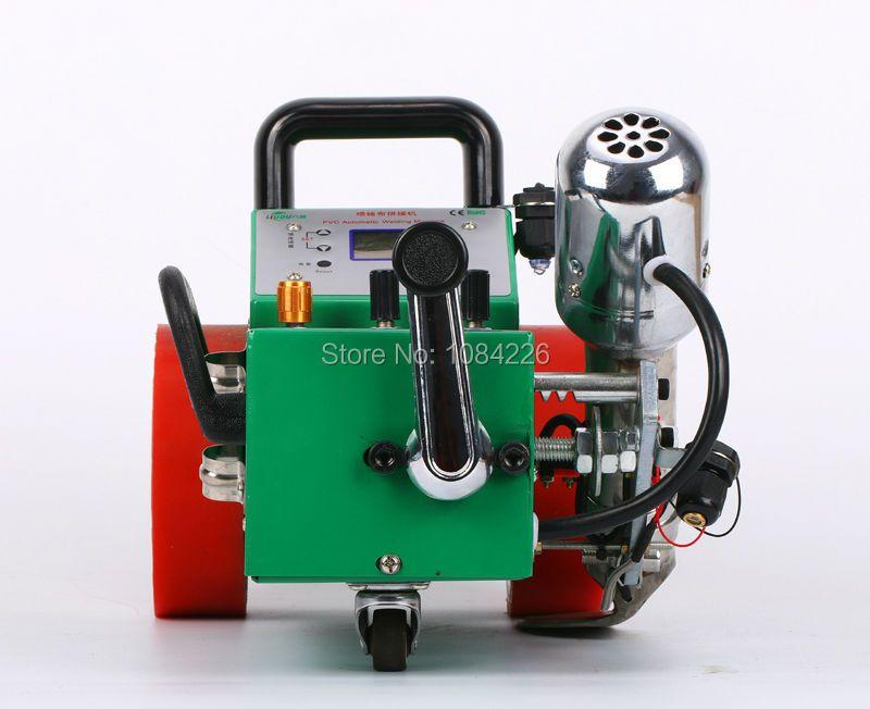 2017 new model Automatic welding machine hot air flex banner welder/laser guide pvc banner seaming machine