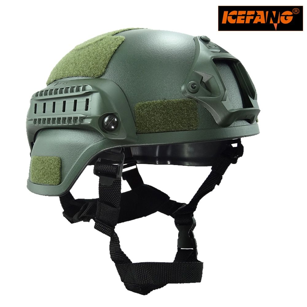 Military Mich 2000 Tactical <font><b>Helmet</b></font> Airsoft Gear Paintball Head Protector with Night Vision Sport Camera Mount