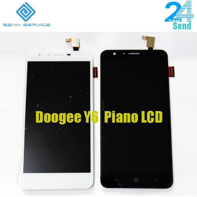 5.5'' For Original Doogee Y6 Piano LCD Display and Touch Screen +Tools Digitizer Assembly Replacement 1280X720P in stock