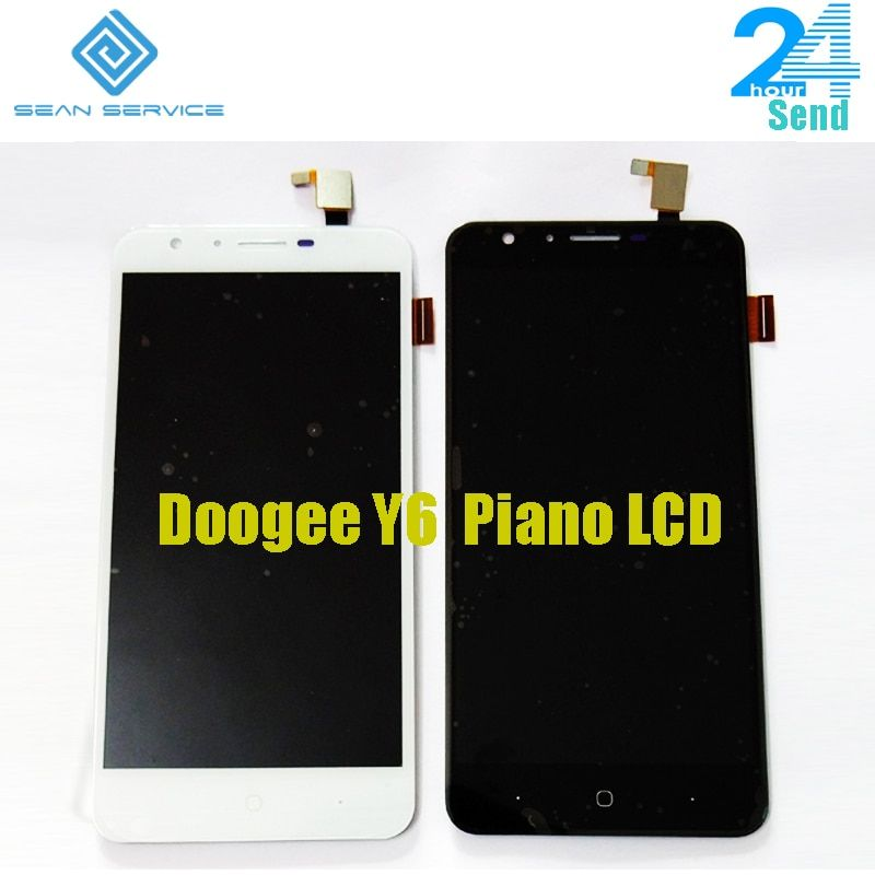 5.5'' For Original Doogee Y6 Piano LCD Display and Touch Screen +Tools <font><b>Digitizer</b></font> Assembly Replacement 1280X720P in stock