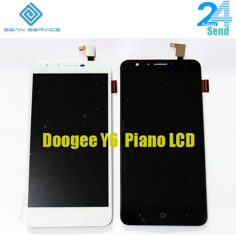 5.5 ''pour Original Doogee Y6 Piano LCD affichage et écran tactile + outils numériseur assemblage remplacement 1280X720 P en stock