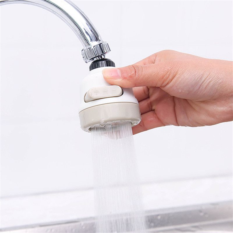 Pressurized 3 Modes Water Saving ABS Faucet Aerators Water Tap Nozzle Filter splash-proof Faucets bubbler for Kitchen Bathroom