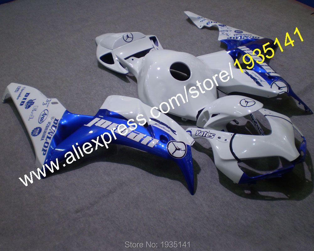 Für Honda 2006 2007 CBR1000RR 06 07 1000 RR CBR blau weiß karosserie verkleidung kit von motorrad (spritzguss)