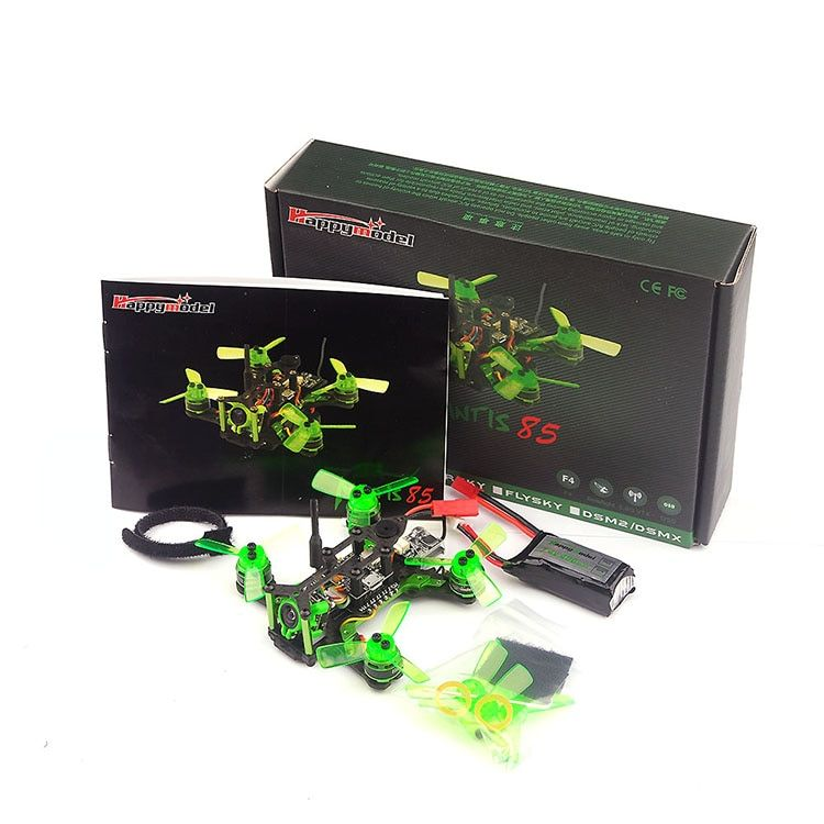 Mantis 85 Micro FPV Racing Drone Qaudcopter with Frsky D8/Flysky / DSM/2 Receiver F4 Flight Control with OSD Dshot BNF