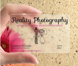 Personnalisé 200 pcs/une conception impression de cartes pvc personnalisé transparent carte 85.5*54mm en plastique cartes de visite