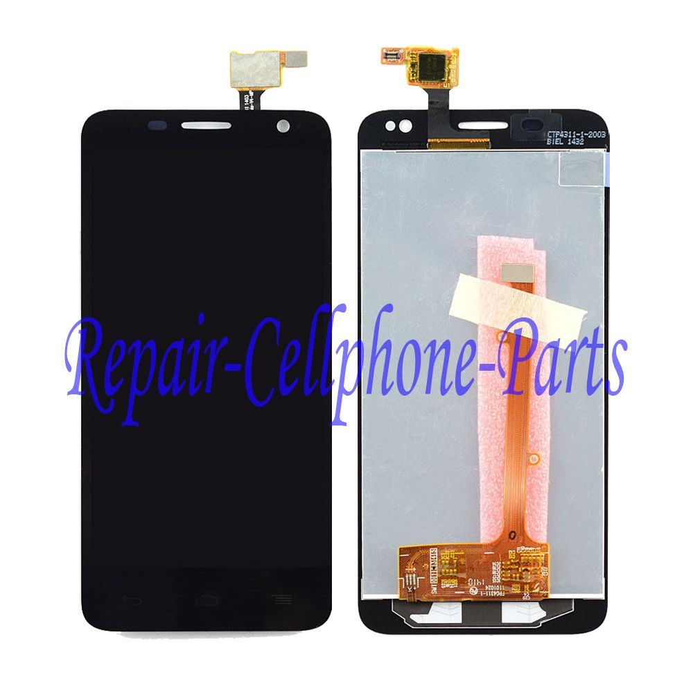 Black Full LCD display + Touch screen digitizer assembly For Alcatel One Touch Idol mini 6012 OT6012 6012A 6012D 6012W 6012X