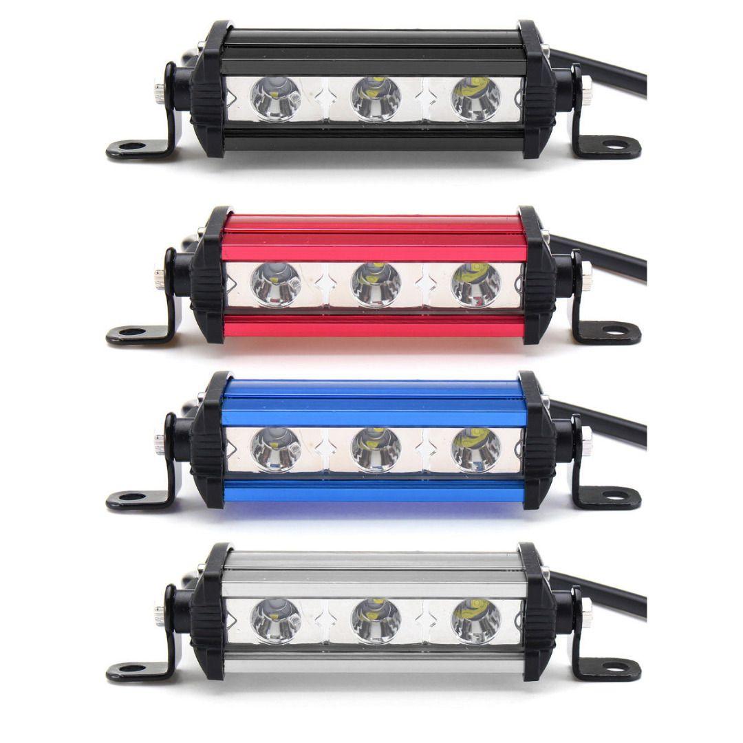 4 Inch 9W 3 LED Work Light Bar Lamp Spot Beam Work Light For Motorcycle Boat SUV ATV Jeep DC12V Spot MAYITR
