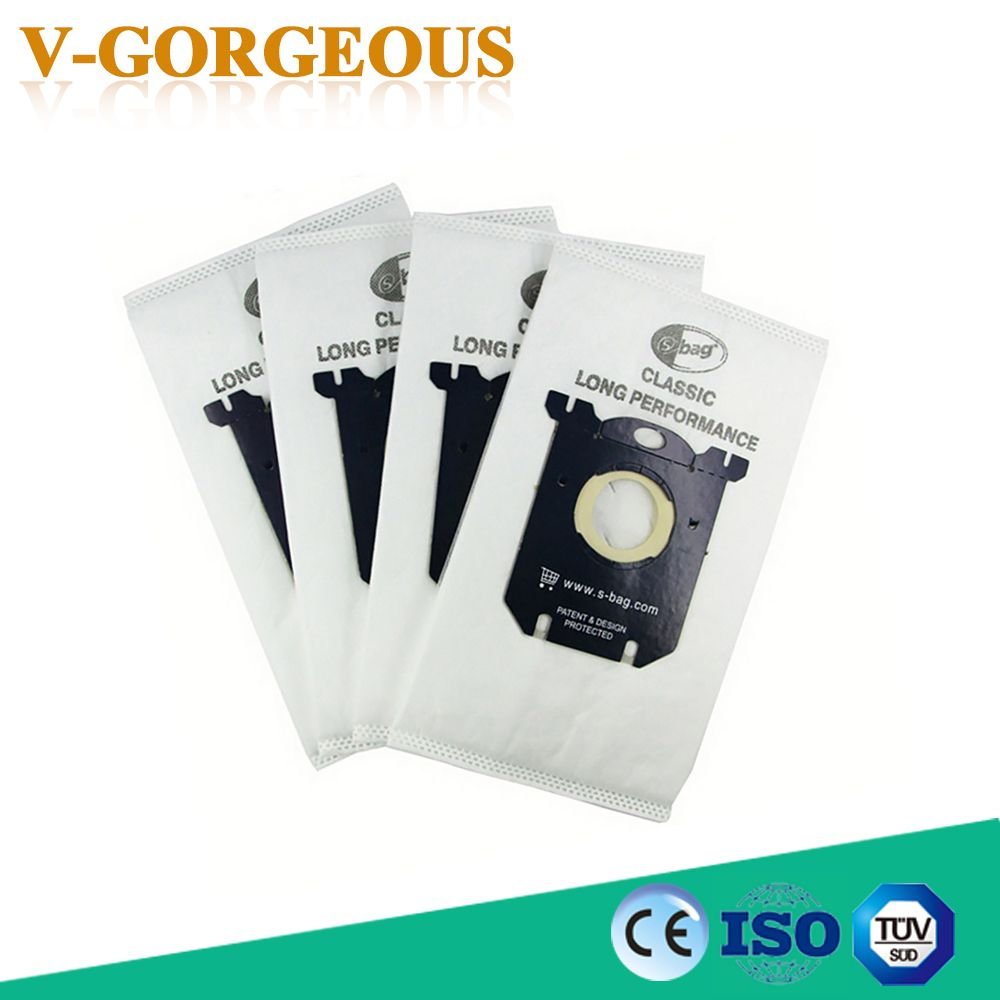 10 pieces/a lot Vacuum Cleaner Bags Dust Bag for Electrolux Vacuum Cleaner filter and S-BAG