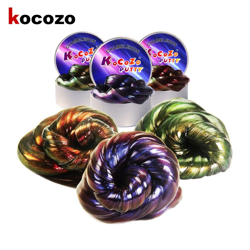 Kocozo Slime Toys Light Modeling Clay Polymer Fluffy Slime Fimo Plasticine No Borax Entertainment Anti stress Stress Relief Toys