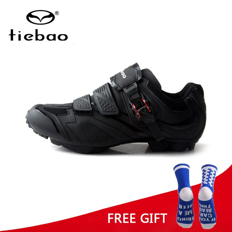 Tiebao Men MTB Anti-Skid Durable Cycling Shoes Bike Self-Locking Athletic Bicycle Shoes Sneakers Sapatilha Ciclismo Zapatillas
